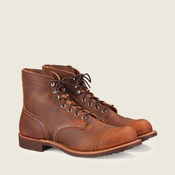 Red Wing 8085 Iron Ranger Copper R&T - Kings & Queens