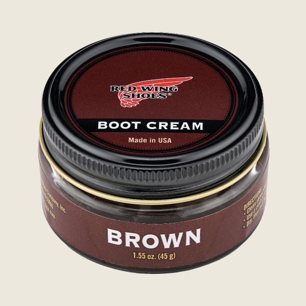 Red Wing Boot Cream Brown - Kings & Queens