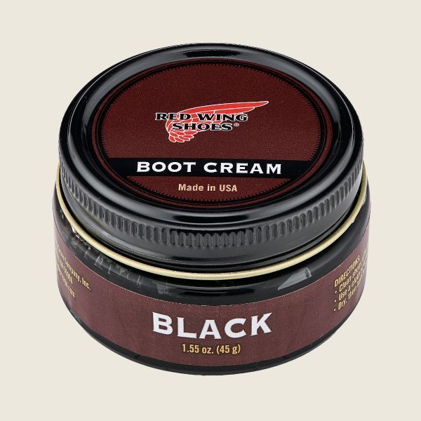 Red Wing Boot Cream Black - Kings & Queens