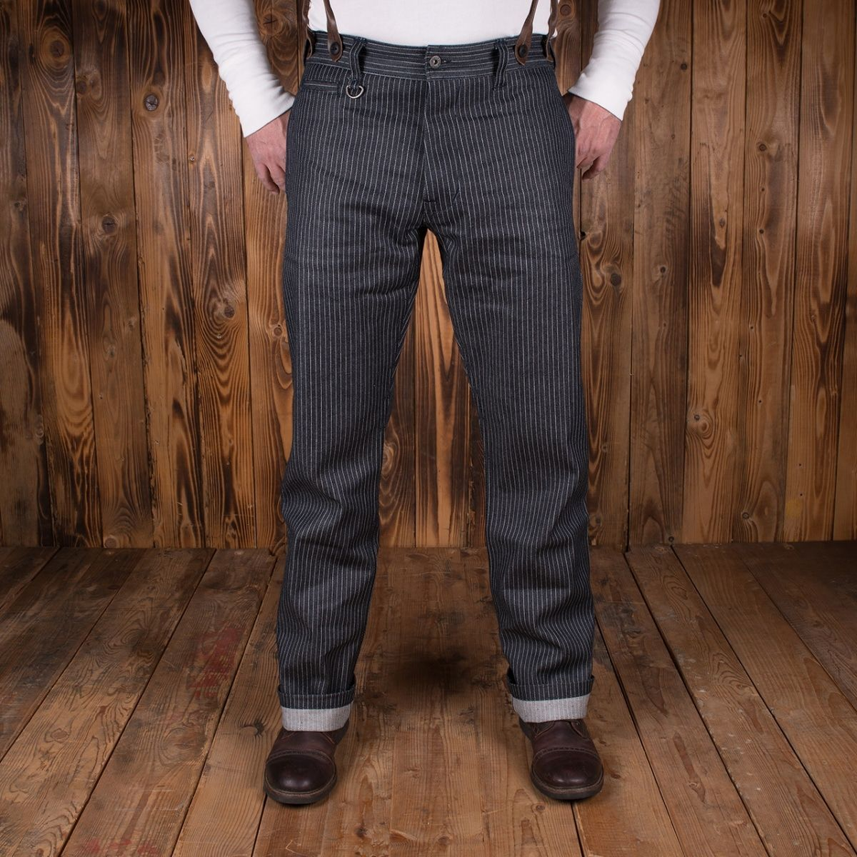 Pike Brothers 1942 Hunting Pant Blue Wabash - Kings & Queens