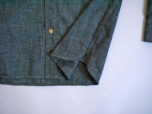 Fleur de Bagne Camisard Denim shirt - Kings & Queens
