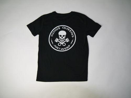 Kings & Queens Skull Logo Black - Kings & Queens