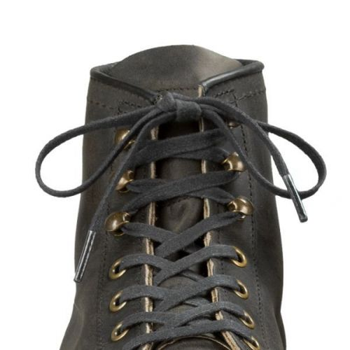Red Wing Black Waxed 152cm  Laces  - Kings & Queens