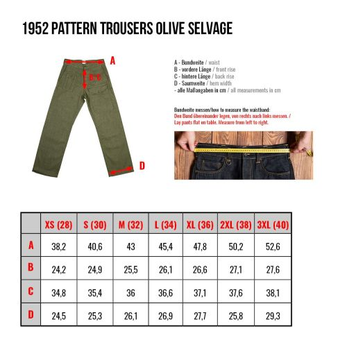Pike Brothers 1952 Pattern Trousers - Kings & Queens