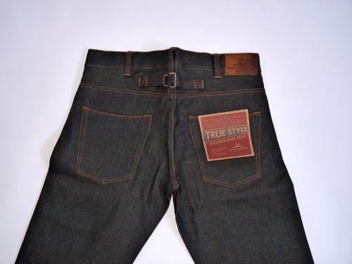 Pike Brothers 1937 Roamer Pant 14oz Blue Black - Kings & Queens