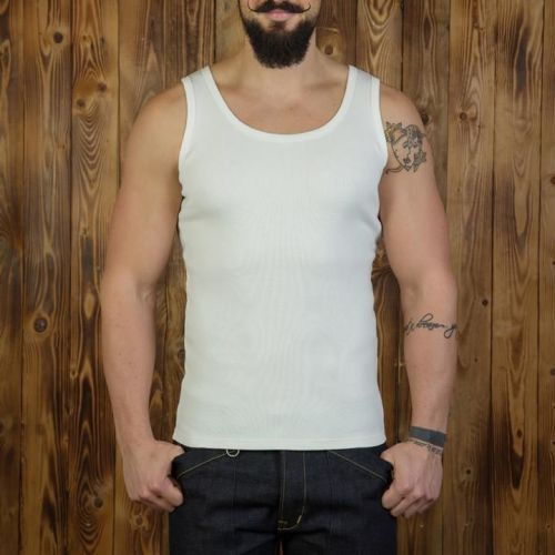 Pike Brothers 1965 Tank Top Set White - Kings & Queens